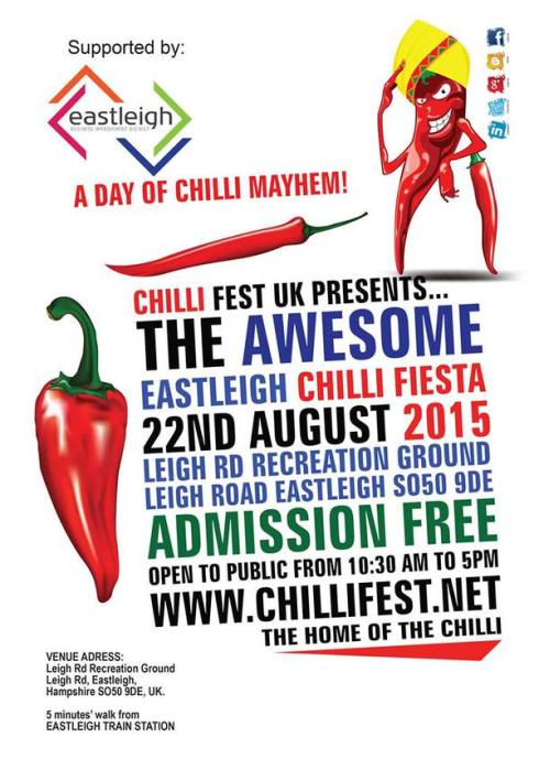 Eastleigh Chilli fiesta