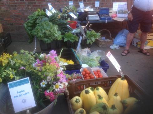 Lewes Market August 2015